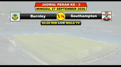 Jadwal Liga Inggris Pekan Ke 3 Live NET TV - Liverpool VS Arsenal