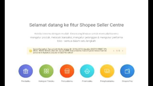 Streaming Disable Otp Shopee Vidio Com