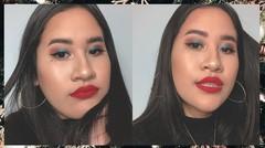 Weekend Makeup ft. Ana Luisa Jewelry | Kevina Christina