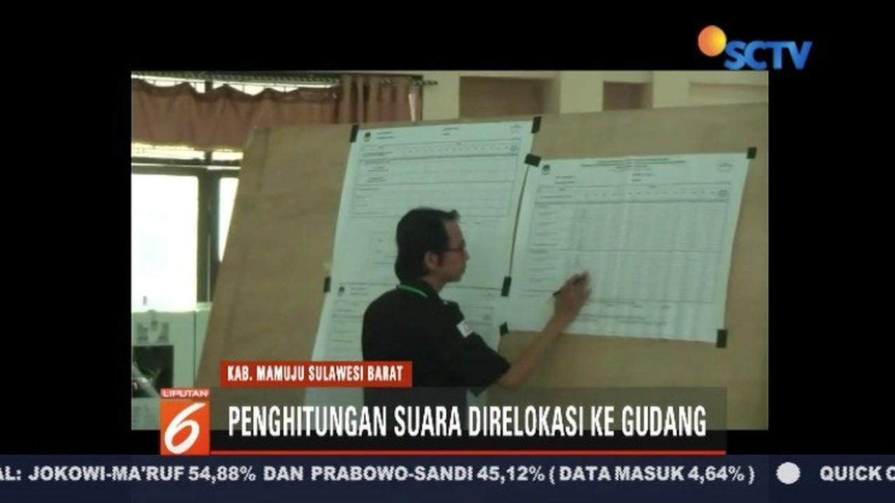 Streaming Kantor Kecamatan Tak Memadai Penghitungan Suara Di Mamuju Pindah Ke Gudang Kpud Liputan 6 Terkini Vidio