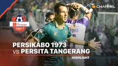 Highlights - Persikabo 1973 3 vs 1 Persita Tangerang | Shopee Liga 1 2020