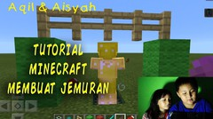 TUTORIAL GAME MINECRAFT MEMBUAT TIANG JEMURAN