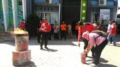 Pelatihan Penggunaan Apar Di Dinas Kesehatan Kabupaten Situbondo