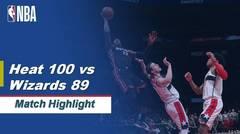 Match Highlight   Miami Heat 100 vs 89 Washington Wizards   NBA Regular Season 2019/20