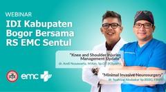 Webinar IDI Kabupaten Bogor Bersama RS EMC Sentul