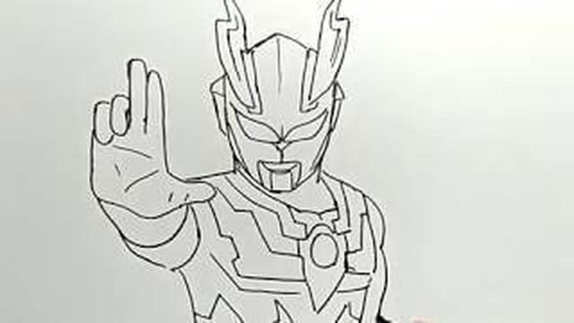 cara menggambar ultraman / how to draw ultraman - Vidio.com
