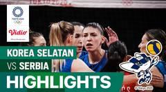 Highlights | Bola Voli Putri | Perebutan Medali Perunggu - Korea Selatan 0 vs 3 Serbia | Olimpiade Tokyo 2020
