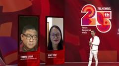 Edward Suhadi & Jenny Jusuf -Stay Creative, Stay Alive | Talkshow | Telkomsel Silver Stream Fest 2020