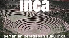 Situs Moray yang Misterius dari peradaban suku Inca