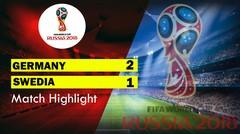 GERMANY Vs SWEDIA (2-1) Highlight & Goal