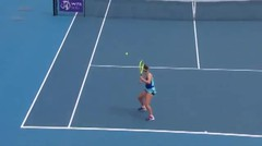 Match Highlights | Jennifer Brady 2 vs 0  Barbora Krejcikova | WTA Melbourne Open 2021
