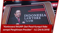 [FULL] Kontroversi RKUHP Dari Pasal Kumpul Kebo Sampai Penghinaan Presiden ILC (24/9/2019)
