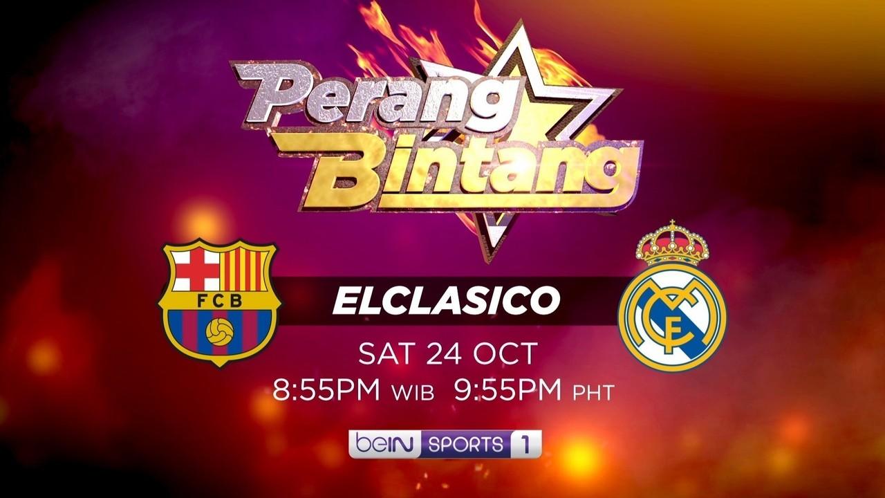 Streaming Perang Bintang Barcelona & Real Madrid!   beIN ...