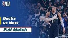Full Match - Milwaukee Bucks vs Brooklyn Nets I NBA Playoffs 2020/21