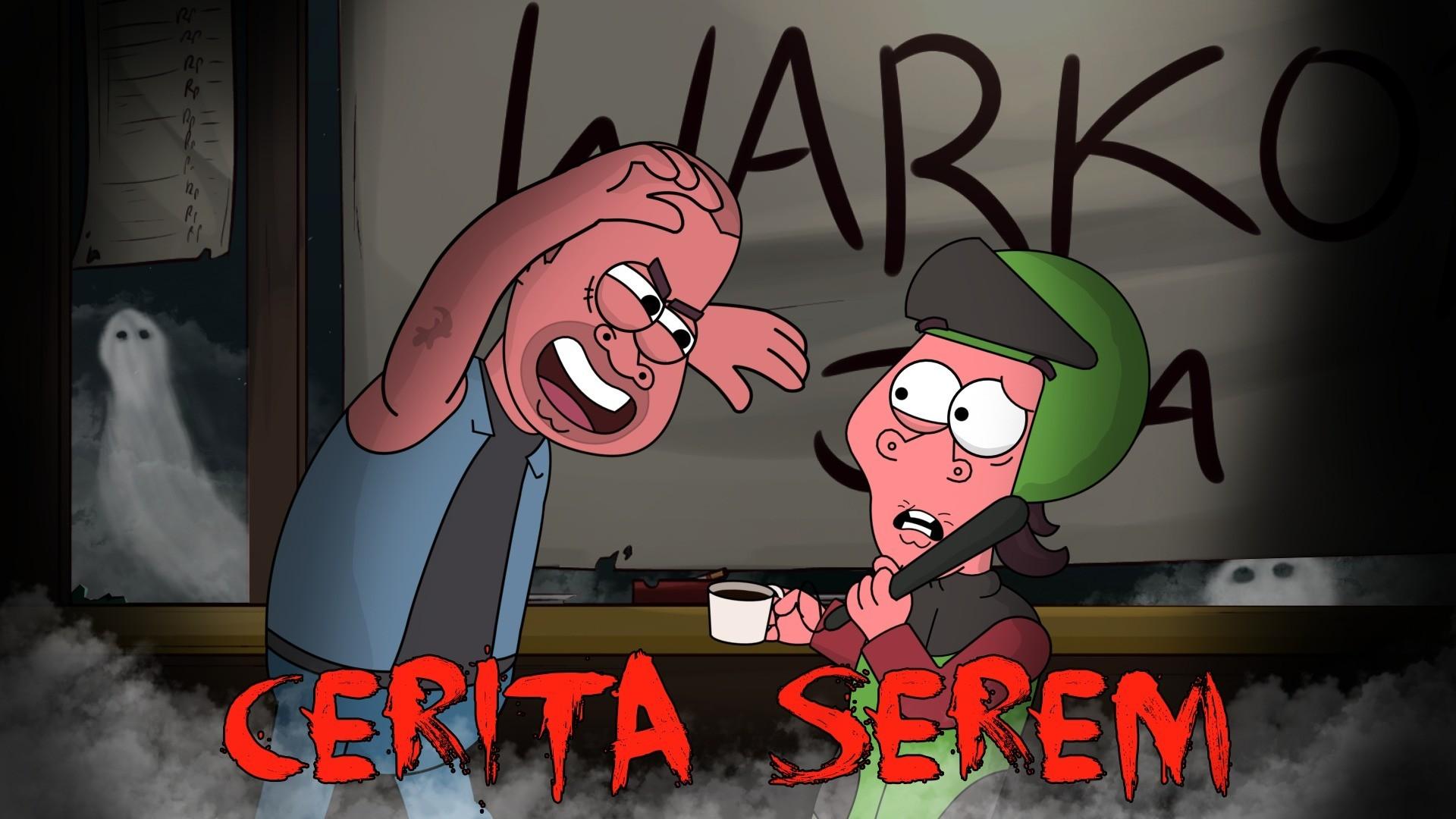 Kartun Lucu Cerita Horor Dunia Si Etan Animasi Horor Lucu