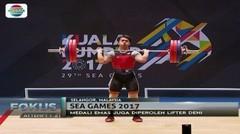 Cabang Olahraga Angkat Besi Dulang 2 Medali Emas - Fokus Pagi