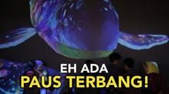Puas Main di Pameran Digital teamLab Future Park Gandaria City