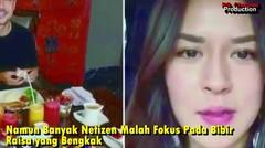 Posting Video Usai Malam Pertama, Netizen: Bibir Bawah Yaya Bengkak, Digigit Babang Hamish?