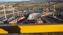 wahana roller coaster paling ngeri di dunia. ngakak dan lucu sekali