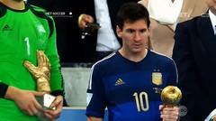 Lima Edisi Terakhir Fifa Golden Ball Award Bukan Milik Tim Juara