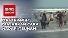 Masyarakat Lebak Simulasi Hadapi Bencana Tsunami