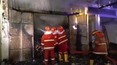 Peristiwa - Terjadi Kebakaran di Jalan Surabaya Pematangsiantar