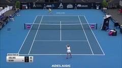 Match Highlight | Danielle Rose Collins 2 vs 0 Sofia Kenin | WTA Adelaide International 2020