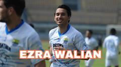 Ezra Walian Jalani Latihan di Persib