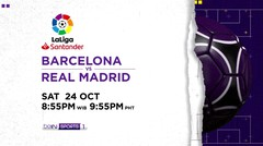Barcelona vs Real Madrid - Sabtu, 24 Oktober 2020 | La Liga Santander