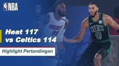 Match Highlight   Miami Heat 117 vs 114 Boston Celtics   NBA Playoff Season 2019/20
