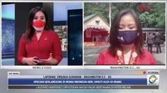Laporan Langsung VOA untuk MetroTV: Peringatan HUT ke-76 RI di Amerika