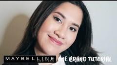 One Brand Makeup Tutorial: Maybelline | Kevina Christina