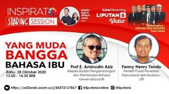 Inspirato Sharing Session - Yang Muda Bangga Bahasa Ibu - 28 Oktober 2020