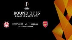 Olympiacos vs Arsenal - Round Of 16 I UEFA Europa League 2020/21