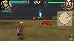 NARUTO HOKAGE saat Lawan Diri Sendiri KYUBI ekor 9 | game Naruto Psp
