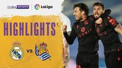 Match Highlights | Real Madrid 1 vs 1 Real Sociedad | La Liga Santander 2021