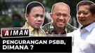 Kurva Melandai, Pemerintah Longgarkan PSBB? | Sinyal Pelonggaran PSBB? - AIMAN (Bag3)