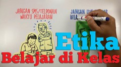 Etika dalam Gambar: Etika Belajar di Kelas