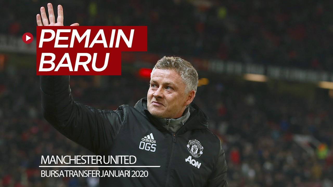 Manchester United Inginkan 2 Pemain Baru Pada Januari 2020