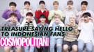TREASURE Says Hello to Indonesian Fans