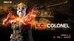 Siap bertempur bersama L.C Colonel! - Diamond Royale Terbaru!