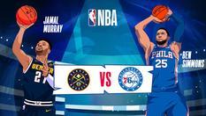 11 Dec 2019   07:00 WIB   NBA 2019  - Denver vs Philadelphia