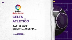Celta vs Atletico - Saturday, 17 October 2020 | La Liga Santander
