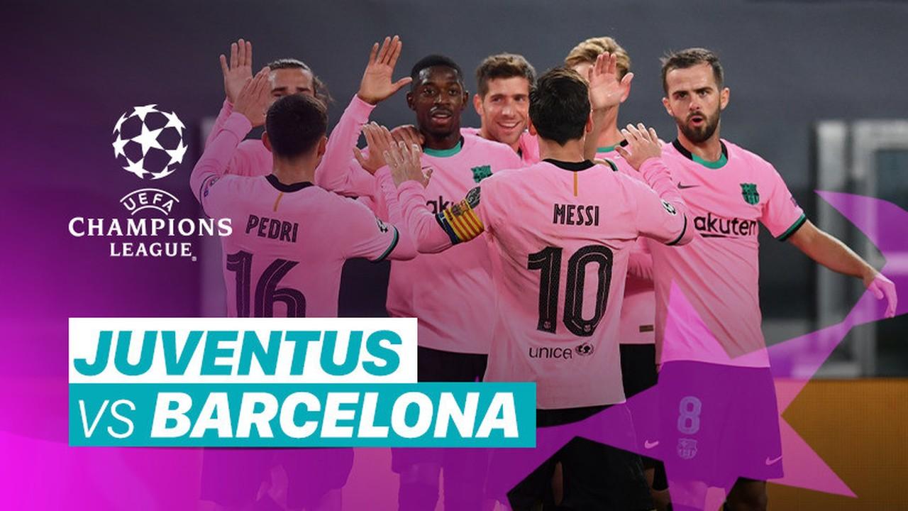 Barcelona Juventus 2021