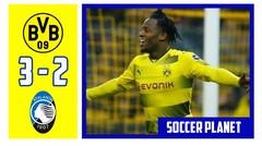 Dortmund vs Atalanta 3-2, 32 Besar Europa League 2017 2018 leg 1