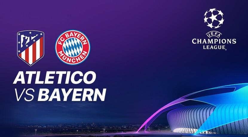 Atletico Madrid vs Bayern Munich - Liga Champions UEFA cover