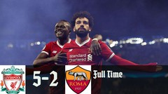 Liverpool Vs As Roma 5-2 Highligts & Goal Champions 2018