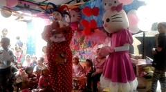 Selamat ulang tahun - Lagu anak - acara ulang tahun ARA ke 3 tahun hiburan badut ancol - Happy Birthday
