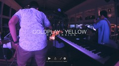 Coldplay - Yellow (FNF Version) | Live at Hang Out Cafe & Bar | Musiccornerid