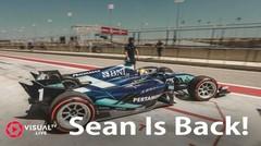 Sean Gelael Kembali Balapan bersama Dams di GP Bahrain